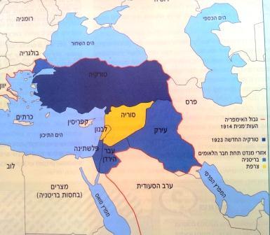 דרכי ההתמודדות עם הפעולות העותמניות